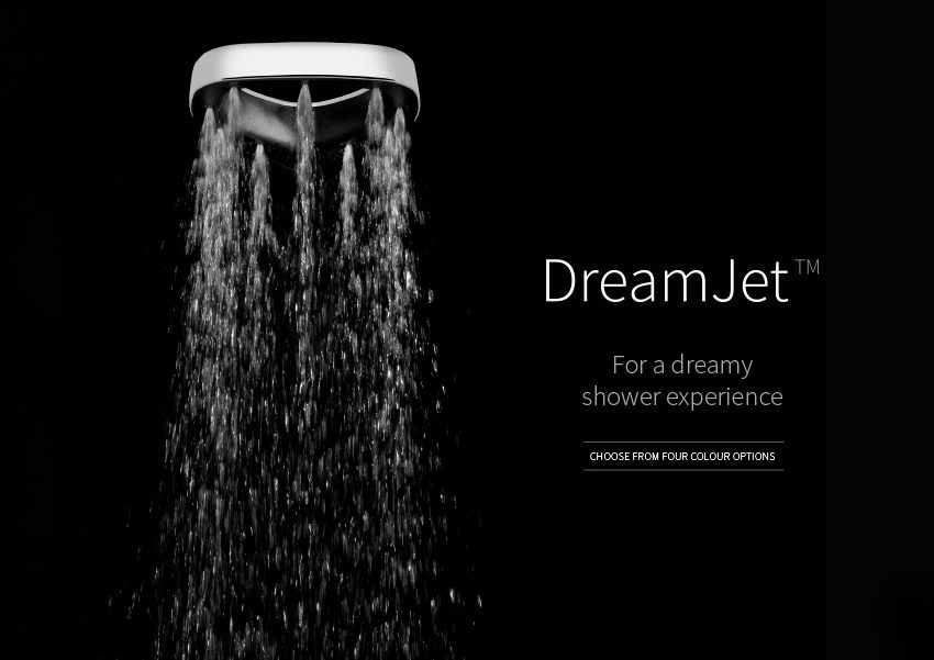 DreamJet - For a dreamy shower experience