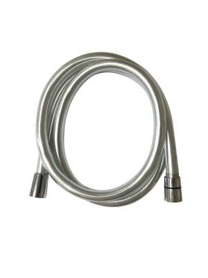 Voda 1.5m Big Bore Smooth Silver Shower Hose VDAPT05