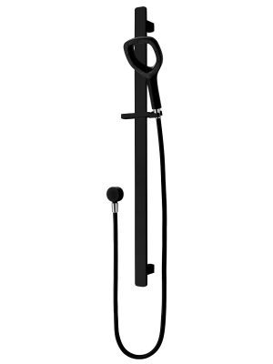 DreamJet slide shower in Matte Black by Voda Plumbingware