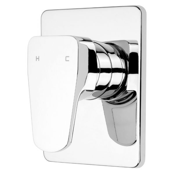Voda Eclipse Vortex Shower Mixer in Chrome | VECL060