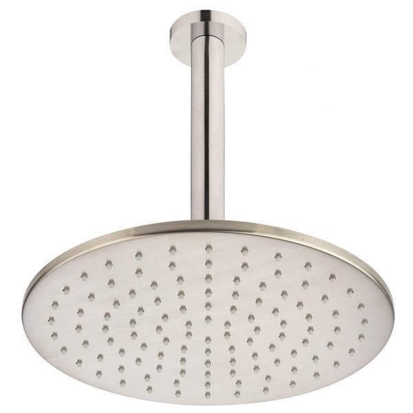 Brushed Nickel Round Ceiling Mounted Shower Drencher