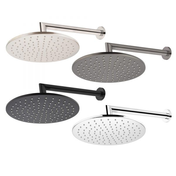 Eclipse Wall Mounted Shower Drencher (Round)