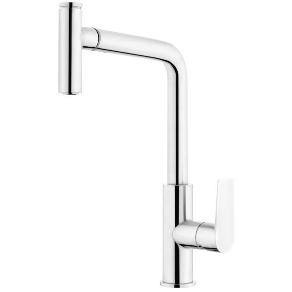 Voda Olympia High Rise Pullout Sink Mixer in Chrome VOP14CH