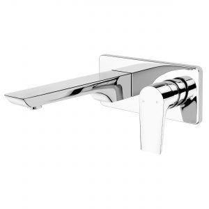 Voda Olympia Wall Mounted Basin Mixer in Chrome VOP21CH