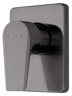 Voda Olympia Vortex Shower Mixer in Brushed Gunmetal VOP40BG