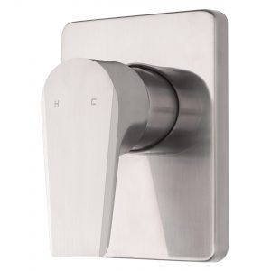 Voda Olympia Vortex Shower Mixer in Brushed Nickel VOP40BN