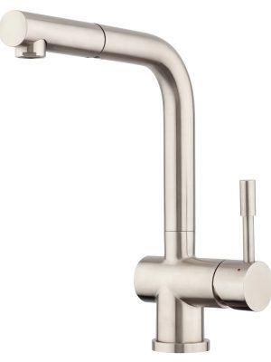 Voda Stainless Steel Pullout High Rise Sink Mixer VSS116